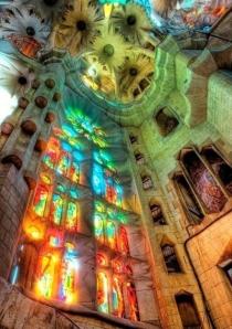 Basílica i Temple Expiatori de la Sagrada Família -Barcelona. Architect: Antoni Gaudi.