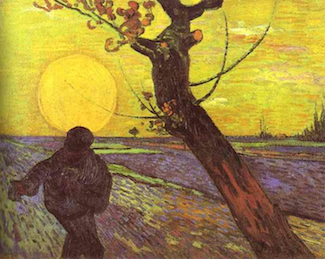 """The Sower"" by Vincent van Gogh"