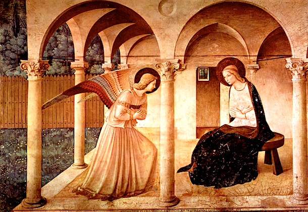 The Annunciation by Fra Angelico.