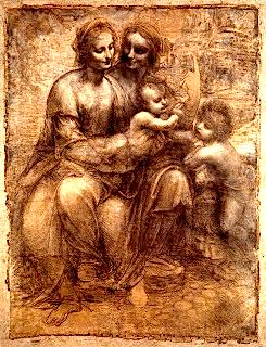 Vi. The Twins, Da Vinci Enigma Tarot