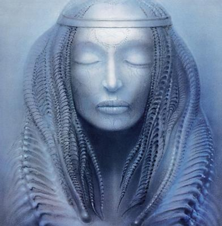 Work Nr. 217 ELP I (Brain Salad Surgery) by H. R. Giger.