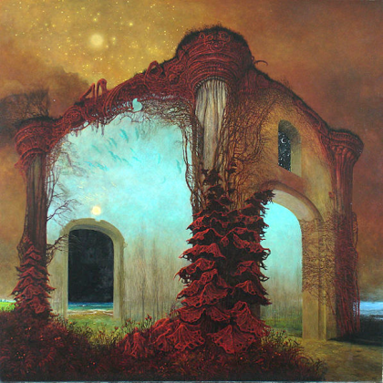 AA78 by Zdzislaw Beksinski (1978).  Creative Commons Attribution.