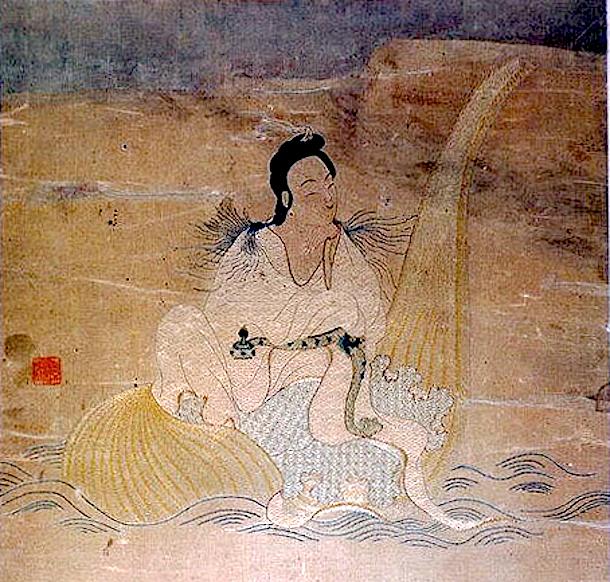 Taoist Immortal by Unidentified Artist. Ming Dynasty. Metropolitan Museum of Art, http://metmuseum.org/
