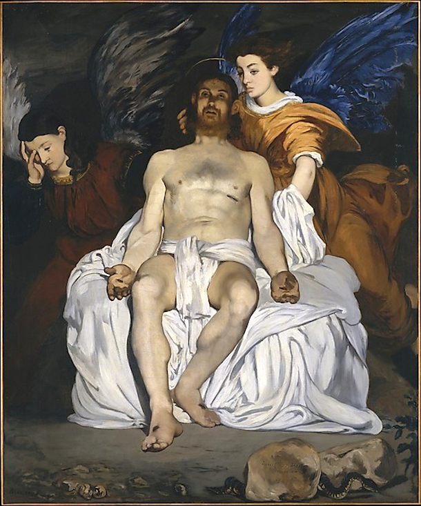 Dead Christ with Angels by  Édouard Manet (1864). Metropolitan Museum of Art. http://www.metmuseum.org