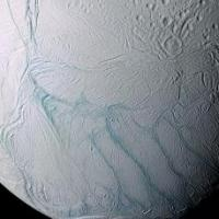How Saturn's tiger moon got its stripes | New Scientist