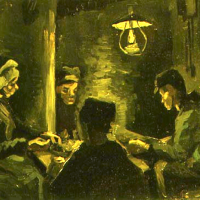 The Potato Eaters - Van Gogh