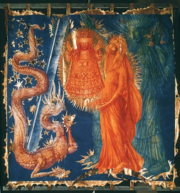 The Glorious Rosary by Ernst Fuchs (1954).