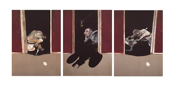 Triptych May-June, 1973 by Francis Bacon. Tate Modern. http://www.tate.org.uk