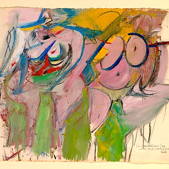 Two Women by William de Kooning