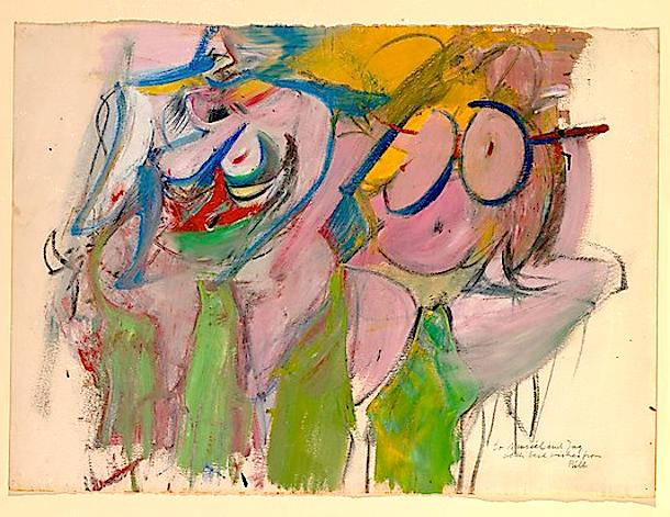 Two Women by William de Kooning