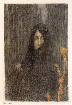 The Silence by Henri Martin.