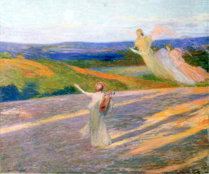 The Song of Orpheus by Henri Martin (1895).