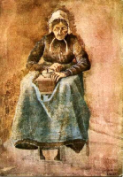 Woman-Grinding-Coffee_Vincent-van-Gogh