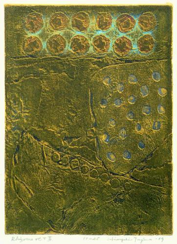 """Rhizome"" Hiroyuki Tajima, 1969."
