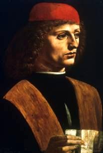 Marsilio Ficino by Leonardo da Vinci