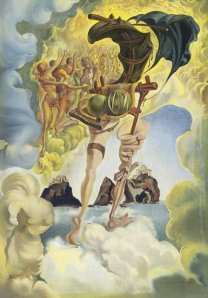 Allegory of Sunset Air by Salvador Dali