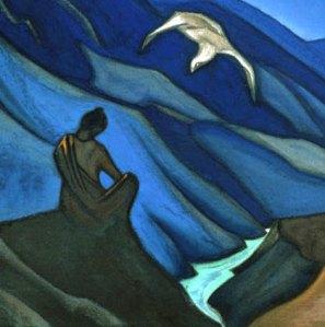 """Testament of the Teacher"" by Nicholas Roerich (1947)"