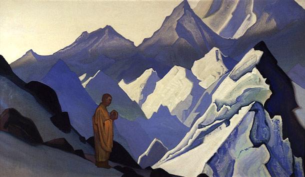 """""""Morning Prayer"""" by Nicholas Roerich (1931)"""