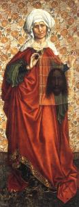 Veronica, Robert Campin (1410)