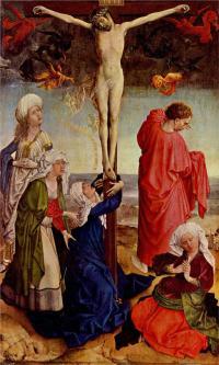 Crucifixion, Robert Campin
