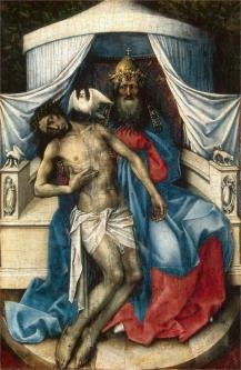 Mourning Trinity (Throne of God), Robert Campin