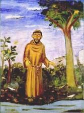 Saint Francis by Alfredo Volpi.