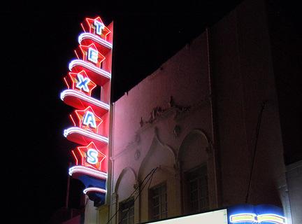 Texas Theater in Dallas, venue of Art Con 2005. Photo credit: Art Conspiracy