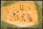"""Paul Klee, """"Abstract Trio"""" (1923)."""