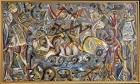 "Jackson Pollock, ""Pasaphäe"" (1943). Metropolitan Museum of Art. © 2015 Artists Rights Society (ARS), New York."