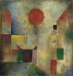 "Paul Klee, ""Red Balloon"" (1922)"