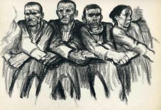 Käthe Kollwith Solidarity 1932