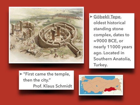"""The oldest structure probably built before the """"agricultural revolution."""""""