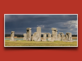 The most well known site: Stonehenge in England.