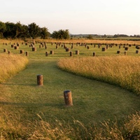 Previously undiscovered neolithic circle of deep shafts near Stonehenge